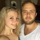 Megan and James